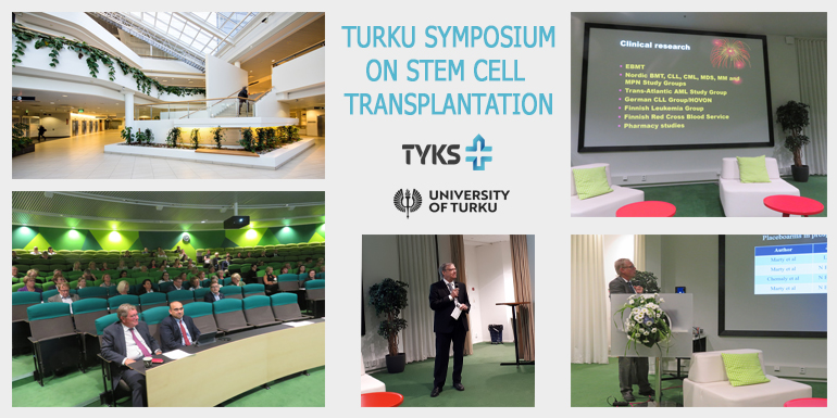 Turku Symposium on Stem Cell Transplantation cover picture.